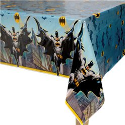 Batman Plastic Tablecover - 1.3m x 2.1m