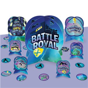Battle Royal Table Decorating Kit