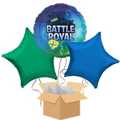 Battle Royal Balloon Bouquet - Delivered Inflated