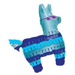 "Battle Royal Llama SuperShape Balloon - 33"" Foil"