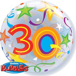 30th Birthday Bubble Balloon - 22