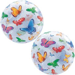 Butterflies Bubble Balloon - 22""
