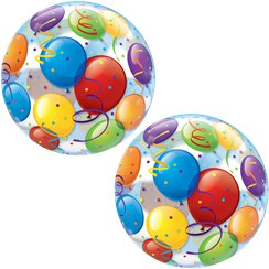 Balloon Print Bubble Balloon - 22""
