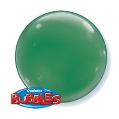 Green Bubble Balloons - 15""