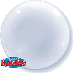 Clear Deco Bubble Balloon - 24