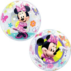 Minnie Mouse Bow-Tique Bubble Balloon - 22""