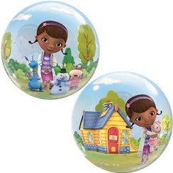 Doc McStuffins Bubble Balloon - 22""