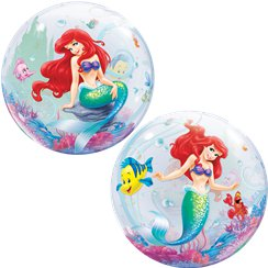 Disney Little Mermaid Bubble Balloon - 22""