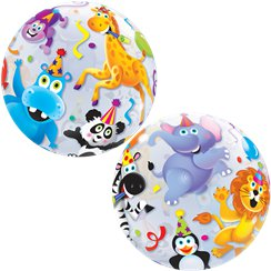 Party Animals Children's Bubble Balloon - 22""
