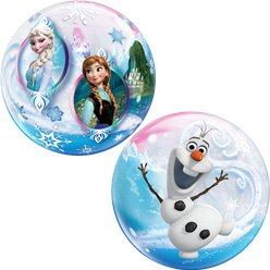 Disney Frozen Bubble Balloon - 22""
