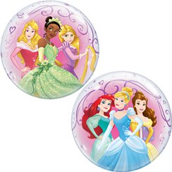 Disney Princess Bubble Balloon - 22""