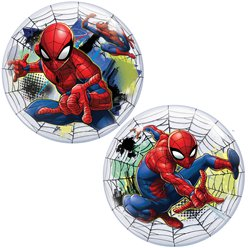Spider Man Bubble Balloon - 22""
