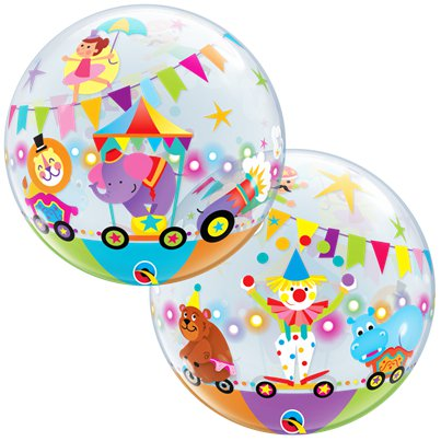 Circus Bubble Balloon - 22""