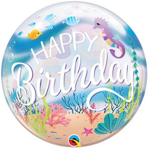 Mermaid Birthday Bubble Balloon - 22
