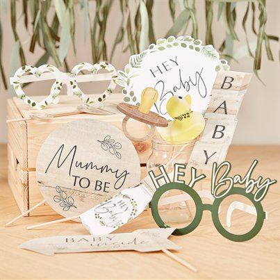 Botanical Baby Photobooth Props