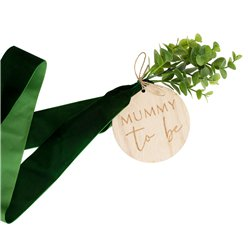 Botanical Baby Mummy To Be Sash