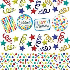 Birthday Bright Confetti - 34g Bag Table Confetti