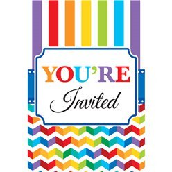 Birthday Bright Invites - Party Invitation Cards