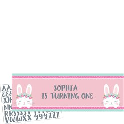 Birthday Bunny Giant Banner - 1.52m