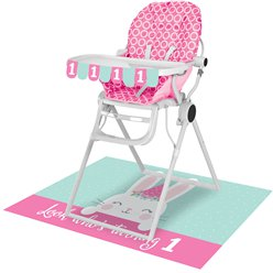 Birthday Bunny High Chair Kit