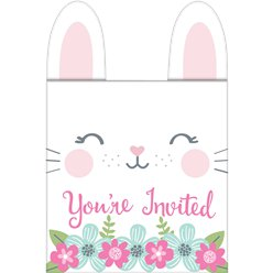 Birthday Bunny Pop Up Invitations