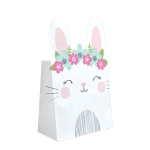 Birthday Bunny Paper Treat Bags