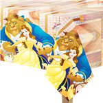 Beauty & The Beast Plastic Tablecover - 1.2m x 1.8m