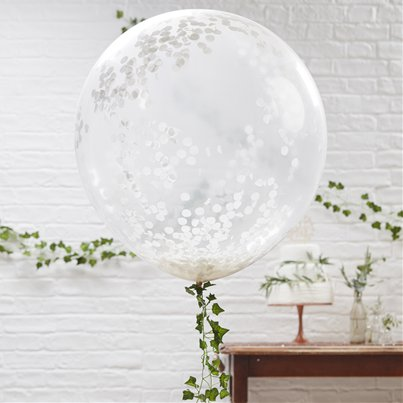 Beautiful Botanics Giant Confetti Balloons