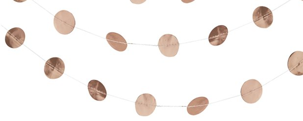 Beautiful Botanics Rose Gold Circle Garland