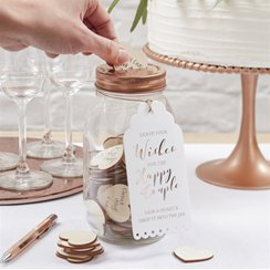 Beautiful Botanics Wishing Jar Guest Book