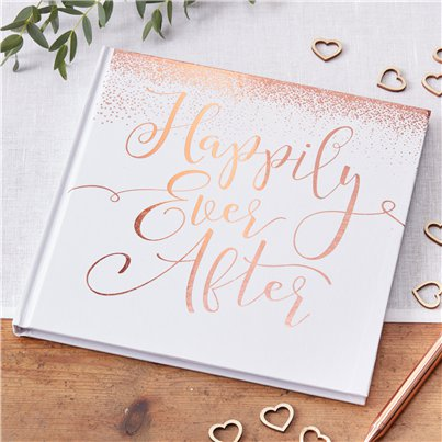 Beautiful Botanics Happily Ever After Guest Book