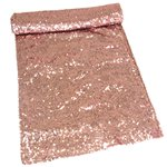 Beautiful Botanics Rose Gold Sequinned Table Runner