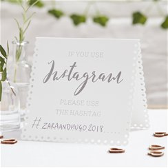 Beautiful Botanics Instagram Tent Cards