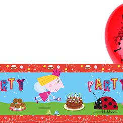 Ben & Holly Foil Banner & Latex Balloon Kit