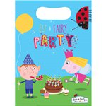 Ben & Holly Party Bags - Plastic Loot Bags