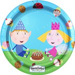 Ben & Holly Plates - 23cm Paper Party Plates