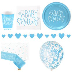 Blue Hearts Party Pack - Deluxe Pack For 16