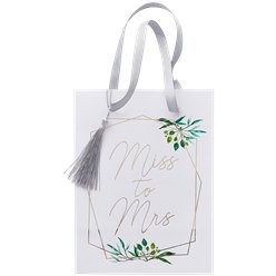 Botanical Hen Miss To Mrs Paper Party Bags