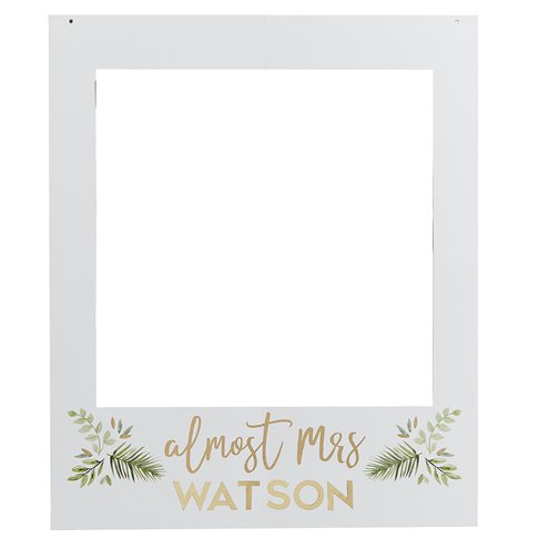 Botanical Hen Party Customisable Giant Polaroid Frame 72cm Party Delights A wide variety of polaroid frame photo options are available to you, such as material, print method, and certification. botanical hen party customisable giant polaroid frame 72cm