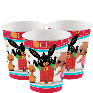 Bing Cups - 266ml Paper Party Cups