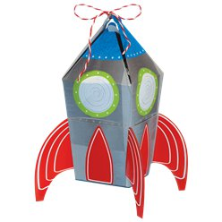 Blast Off Birthday Favour Boxes