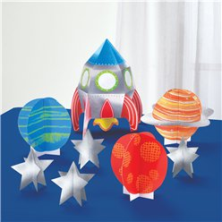 Blast Off Birthday Table Decorating Kit