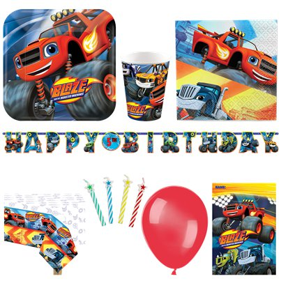 Blaze and the Monster Machines Deluxe Party Pack for 16