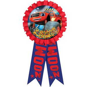 Blaze and the Monster Machines Confetti Filled Award Ribbon