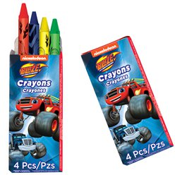 Blaze and the Monster Machines Crayon Packs