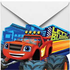 Blaze and the Monster Machines Invitations and Envelopes