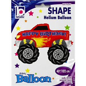 Monster Truck Supersize Balloon - 40