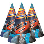 Blaze and the Monster Machines Cone Hats