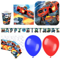 Blaze and the Monster Machines Party Pack - Deluxe Pack for 16