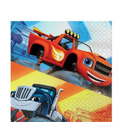 Blaze and the Monster Machines Napkins - 2ply Paper